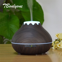 TBonlyone 400ML Colorful Air Aroma Lamp Diffuser Electric Cool Mist Humidifier Ultrasonic Essential Oil Aroma Diffuser