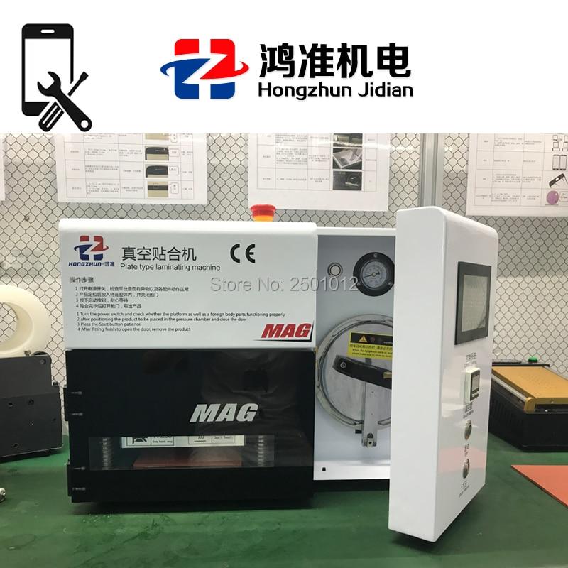 Hongzhun 5 in 1 KO MAG Vuoto Macchina di Laminazione Bubble Remover per Lavori di Riparazione A CRISTALLI LIQUIDI Del Telefono Mobile