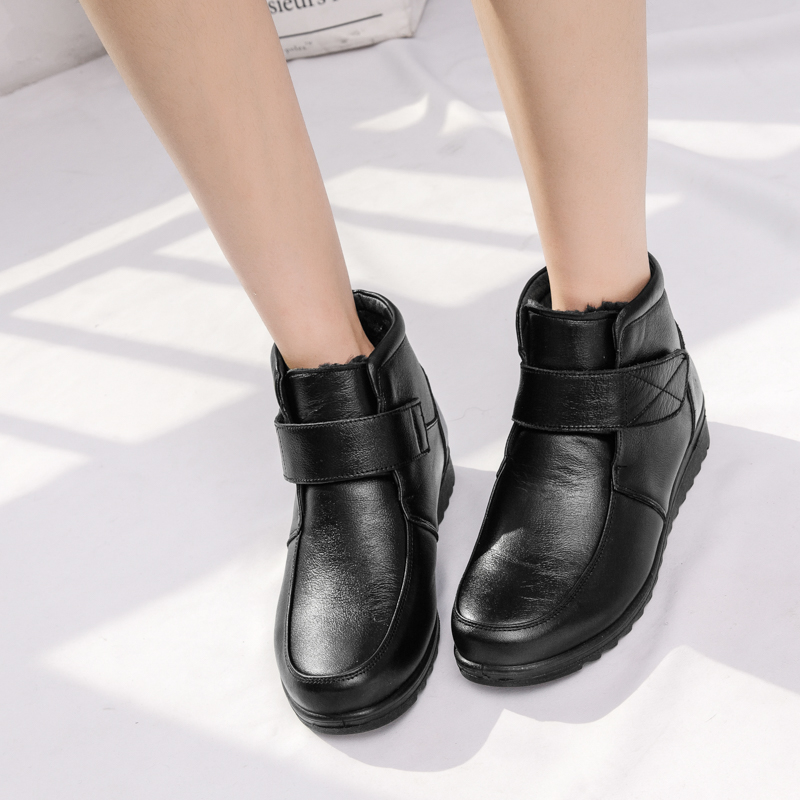 Tobillo Invierno Mujer Zapatos Bot Negro Corto Calzado Bayan Nieve Botas Moda Plataforma Sondr Cuñas Felpa De wXREHBXq