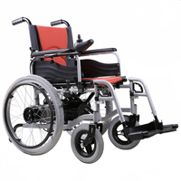 BZ 6111 High Quality Folded And Safety Folding Electrical Wheelchair For Disabled And Elderly People NEW