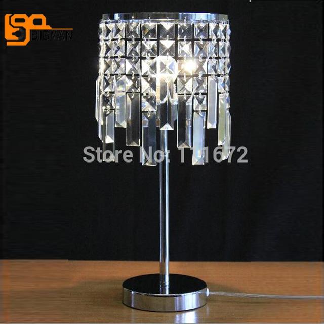 New Nice Design K9 Crystal Modern Table Lamps For Living Room Light