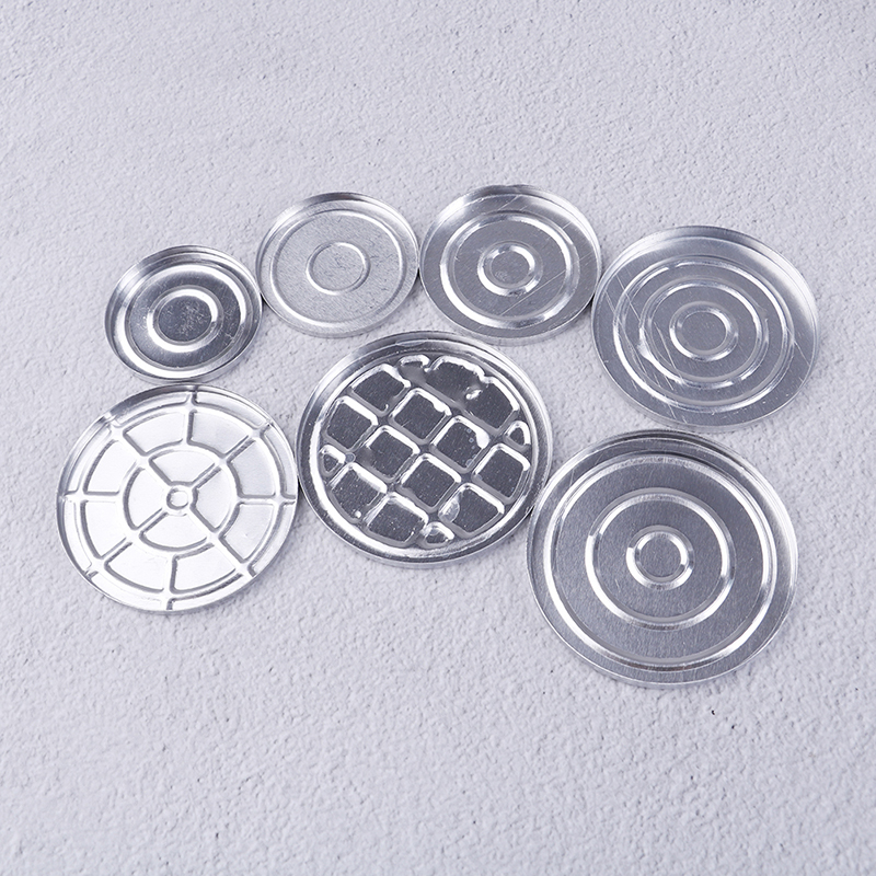 5/10PCS Aluminum Round Makeup Refill Pans DIY Eyeshadow Pigment Powder Palette Case Empty Cosmetic Storage Container Tools