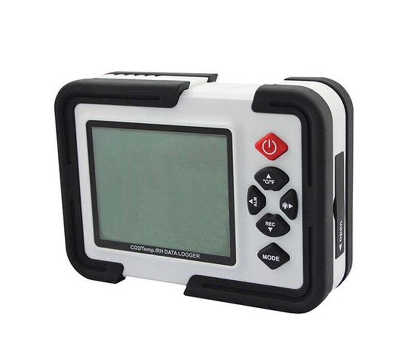 HT-2000 Numérique Moniteur DE CO2 CO2 Mètre Analyseur De Gaz détecteur 9999ppm Analyseurs DE CO2 Avec Température et Humidité Test