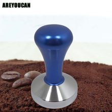 AREYOUCAN стальной базовый отбойный молоток для кофе с деревянной ручкой 51/57, 5 мм, индивидуальные аксессуары для кофе