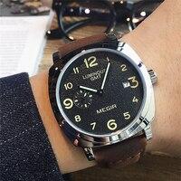 Megir relógio de quartzo masculino  marca original  relógio dos homens  à prova d' água  relógio de pulso  militar  relógio masculino