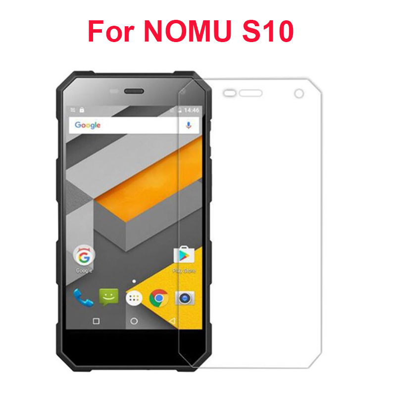 1pc 2pc 3pc Tempered Glass For NOMU S10 Screen Protector Film Anti-Explosion Protective Films Case Cover For NOMU S10 S 10 Glass