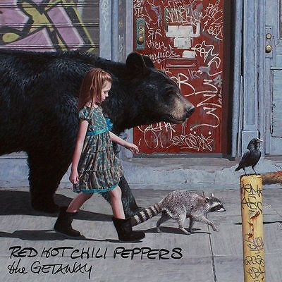 Red Hot Chili Peppers The Getaway Album Music art silk Poster