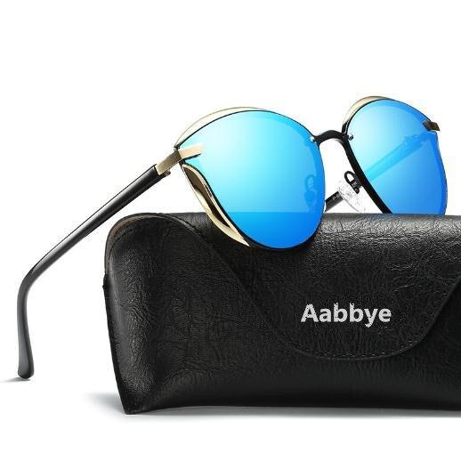oculos de sol New sunglasses with metal polarizing sunglasses steampunk Fashion ladies sunglasses