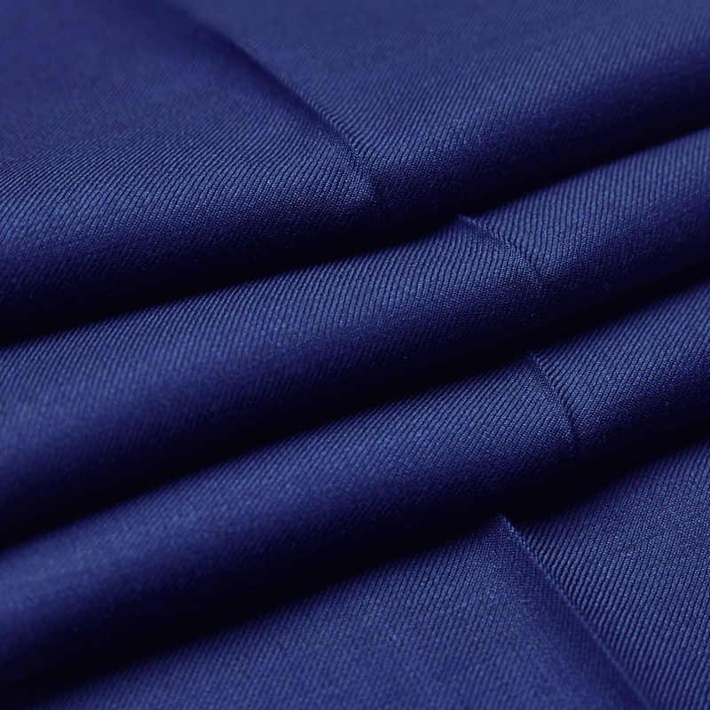 100%ウールロイヤルブルーウェディングスーツ用男性ternos masculinoスリムフィット衣装オム(ジャケット+パンツ)