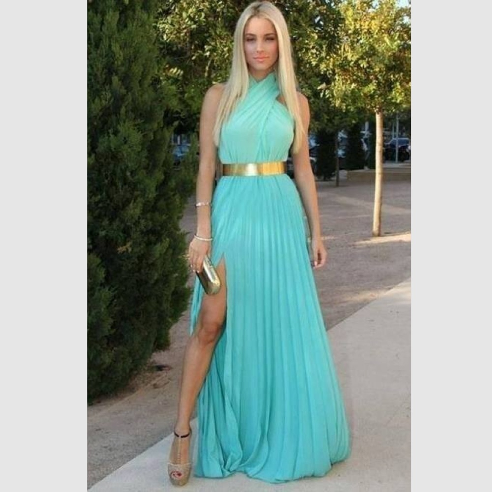 Popular Long Turquoise Dresses-Buy Cheap Long Turquoise Dresses ...