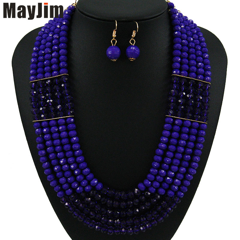 MayJim Statement fashion jewelry sets Handmade