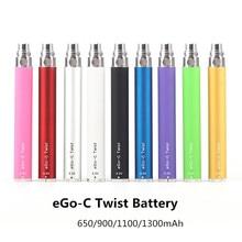 Эго-Батарея электронная сигарета 650/900/1100/1300 мАч видение eVod эго VV Батарея Vape CE4 T3S комплект атомайзер вапорайзер