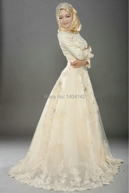 Traditional Muslim Wedding Dress