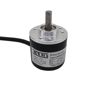 Image 4 - Free shipping PNP Pushpull AB 2 Phase 6mm shaft Incremental Optical Rotary Encoder 100 200 360 400 500 600 1000 pulse ES38