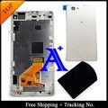 100% тест для Sony Xperia Z1 жк-мини Z1 компактный жк-дисплей сенсорный экран планшета для сборки рамок + задняя крышка - черный / белый