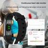 Longet Sport Smart Watch GT101 Waterproof Color Screen Fitness Tracker Heart Rate Monitor Call Reminder Smartwatch Men Women promo
