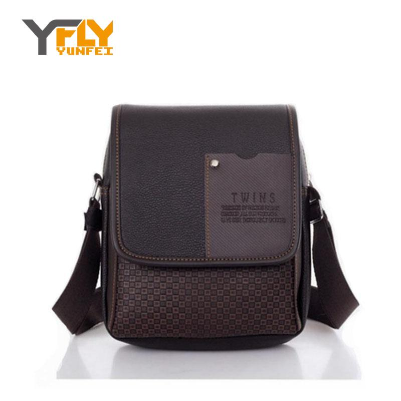 Y-FLY 2016 Men Bag News PU Leather Men's Messenger Bags Business Male Shoulder Crossbody Bag Patchwork Casual Travel Bags XB4834