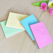 Color sticky square convenience note n notes note 3 / 4 wholesale creative stationery