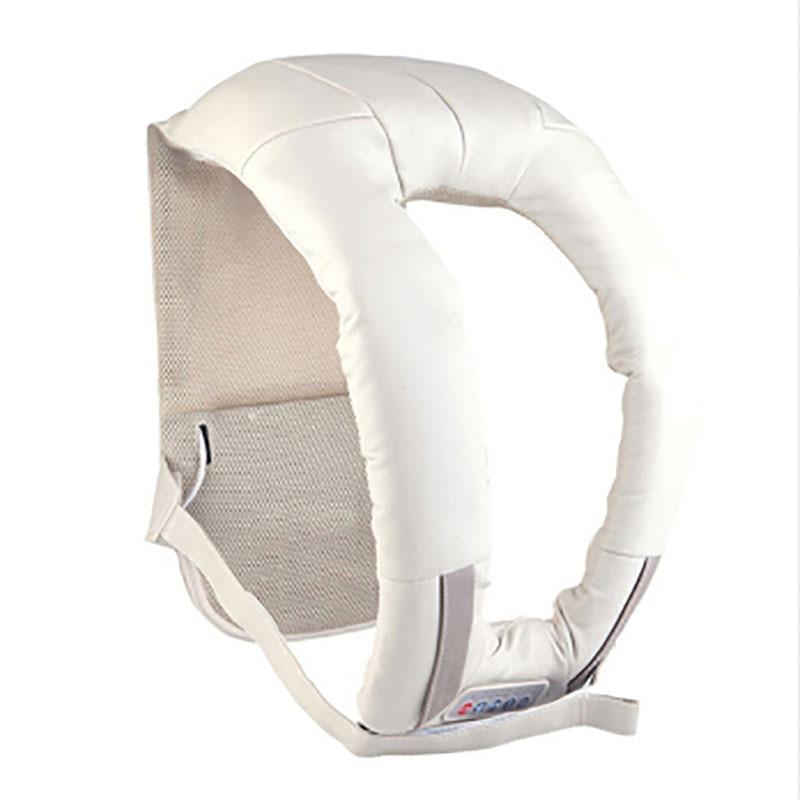Colourfulcat U Shape Car/Home Neck Massager Electrical Shiatsu Shoulder Back Body Massagers Infrared 3D Massagem Flat EU Plug цена