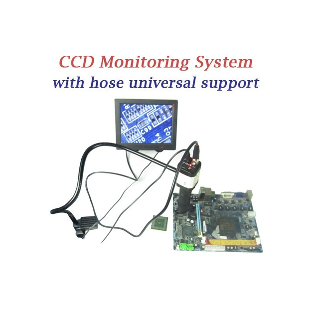 LY cobra CCD camera BGA reballing supervising system with 8'' TFT monitor for bga rework machine