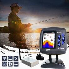 Glück Fernbedienung Fisch Finder echolot FF918 CWLS Farbe Drahtlose Sensor für Angeln 300 m/980ft Betriebs Fishfinder # c5