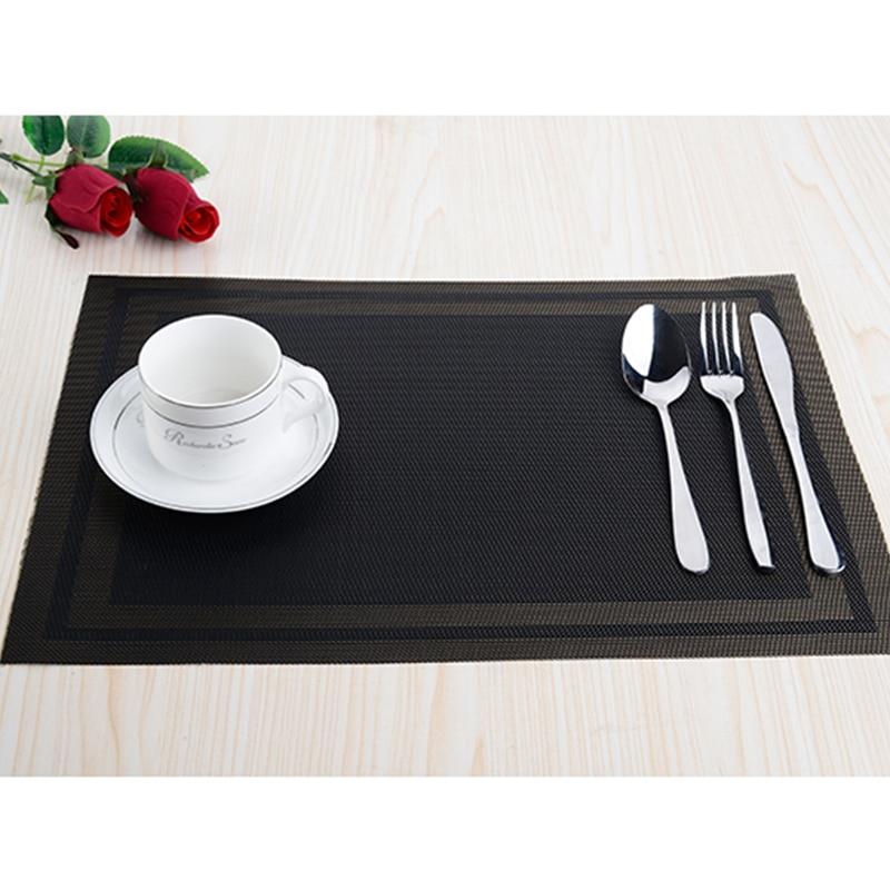 8pcs / lot PVC köksdisplay Placemats för matta manteles - Kök, matsal och bar - Foto 6