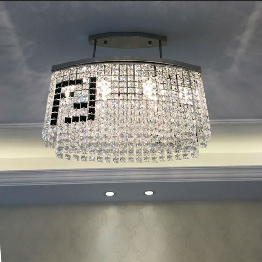 Подробнее о 2017 New Style k9 Crystal Chandelier Lighting Fixture Crystal Light Lustres led cristal for Living Room Ceiling Lamp AC 85v-260v led acrylic chandelier dia 72cm modern chandelier for living room crystal light fixture lustres 110v 220v