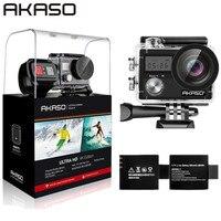 AKASO Brave 4 WIFI 4K Outdoor Action Camera HD Waterproof Camcorder Diving Underwater Bike Helmet Video