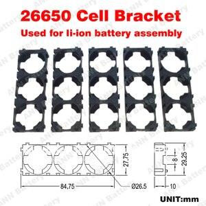 Image 2 - משלוח חינם! 26650 בעל סוללה ליתיום יון תיבת 3P 26650 מחזיק נייד 26650 ליתיום סוללה פלסטיק מקרה