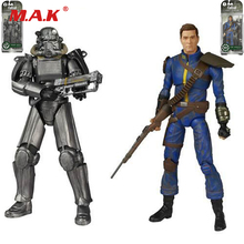 Fallout 4 PVC Action figure 8″ Power Armor Out of clothin Toys Great quality Christmas Gift Model Toys Kids Gifts Collections