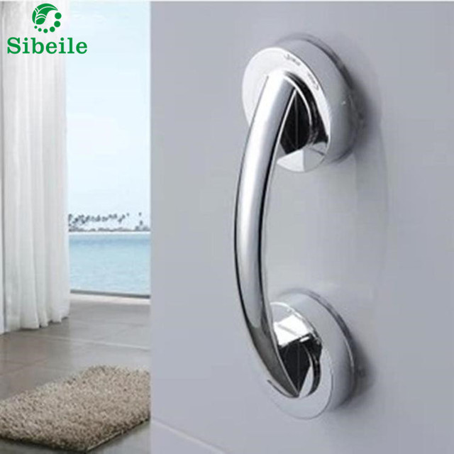 Shower Handle Bar Offers Safe Grip with Strong Hold Suction Cup ...