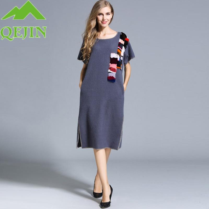 Шерстяные женские платья
