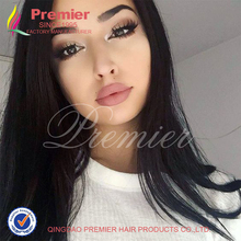 Top 8A Full Lace Human Hair Wigs With Baby Hair Brazilian Virgin Hair Straight Unprocessed Lace Front Human Wigs For Black Women