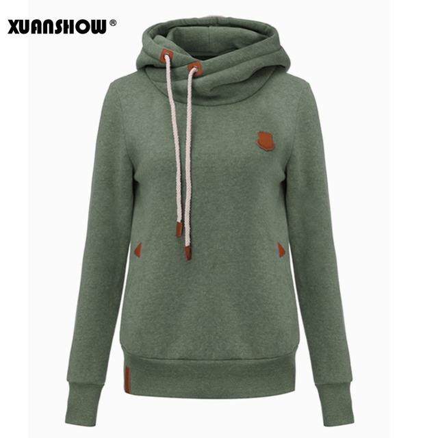 6dc824dbf8ce6 XUANSHOW Lady's Hoodies 2018 New Fashion Winter Women's Hoody Long Sleeve  Keep Warm Hooded Female Tops Casual Plus Size S-4XL