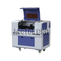 Multi function laser cnc machine mini lasercutter AKJ6040