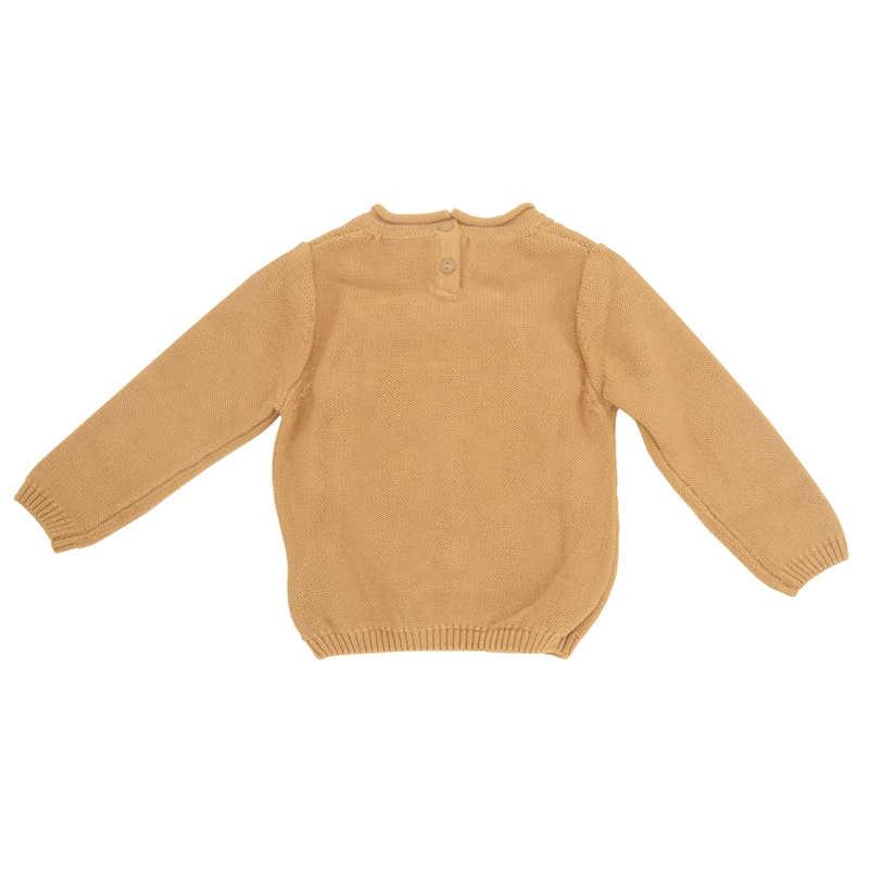 1-7year סוודר עבור בני קריקטורה פיל סוודר ילדים Jumper סרוג סוודר תינוק ילד צמר תינוק בגדים