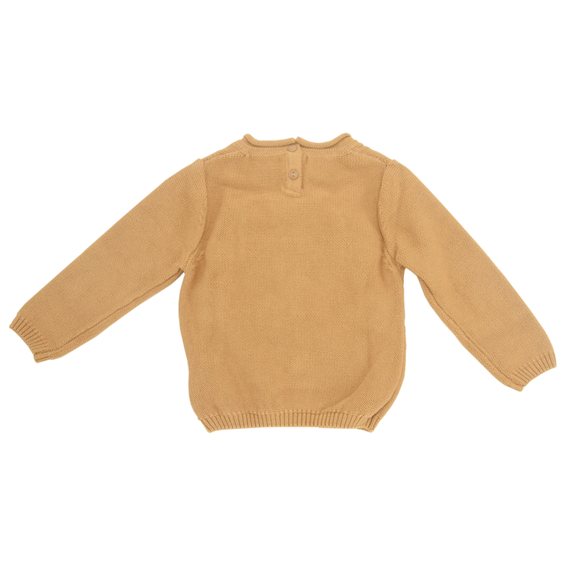 1-7year Sweater For Boys Cartoon Elephant Sweater Kids Jumper knitted Sweater Baby Boy Wool Baby Clothes