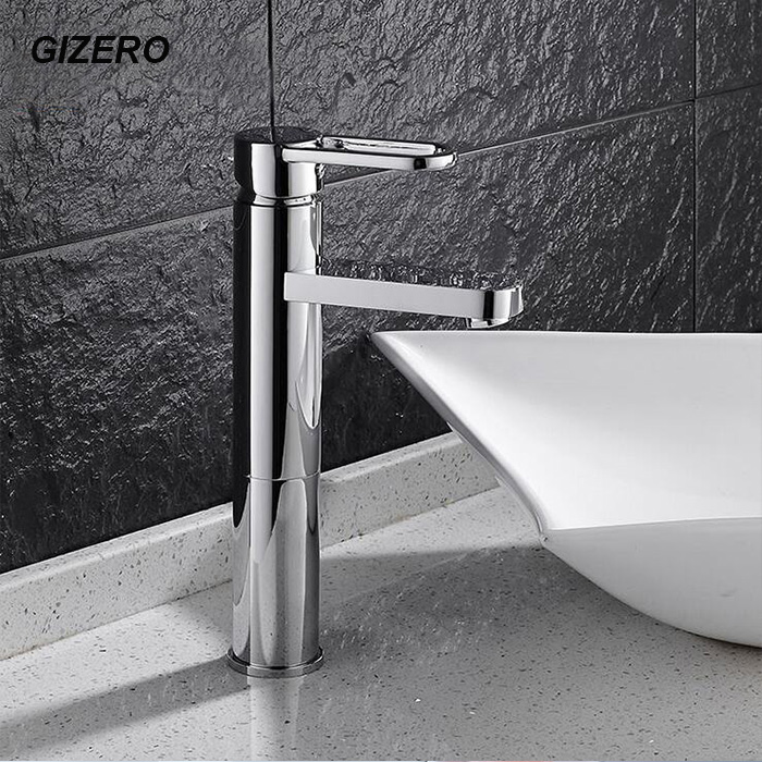 ∞Contemporary Brass Faucet High Quality Chrome Polished Basin Mixer ...