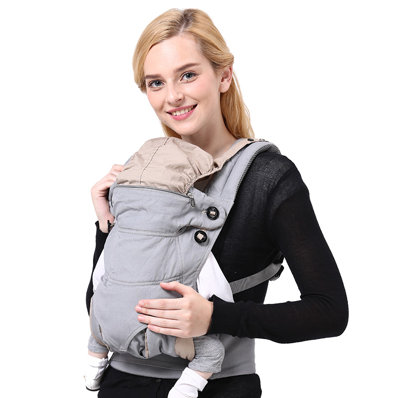 10ae1c5400d 2018 Fashion Baby Carrier Hipseat Baby Backpack Ergonomic Carrier 360  Multifunctional Baby Wrap Slings for Baby-in Backpacks   Carriers from  Mother   Kids ...