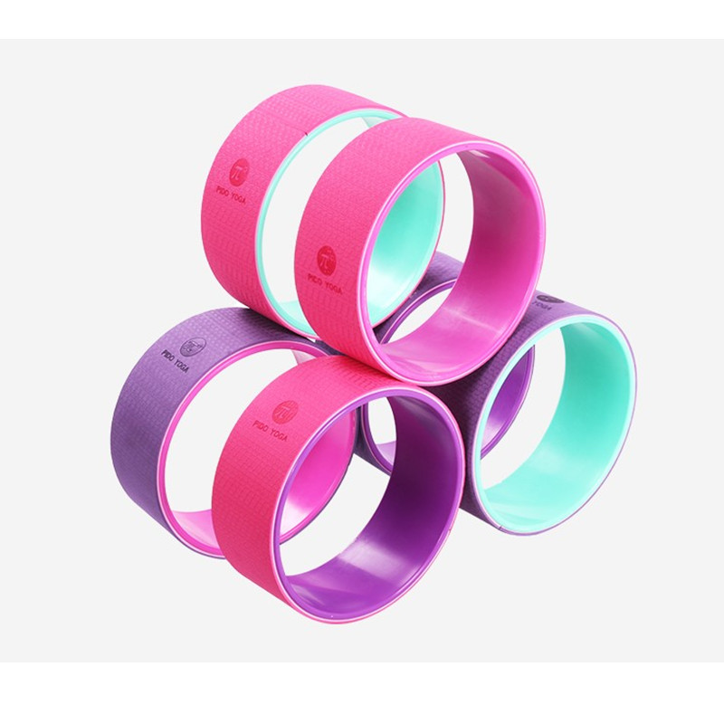New ABS Yoga Wheel Pilates Ring Fitness Circle For Waist Shape Bodybuilding Yoga Balance Exercise Pilates Workout Accessories  yoga accessories wheel | Yoga Wheel Introduction by SukhaMat New ABS font b Yoga b font font b Wheel b font Pilates Ring Fitness Circle