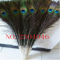 50 PCS naturally beautiful peacock feathers70 75cm (28 to 30 inches) decoration DIY peacock feathers in the eye