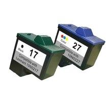 Для Lexmark 17 27 Картридж для Lexmark i3 Z13 Z23 Z34 Z515 Z517 Z600 Z603 Z605 Z615 X1100 X1150 X1270 X2250 X75