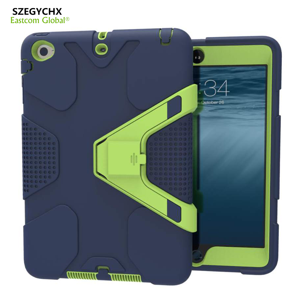SZEGYCHX Tablet Case For iPad Pro 9.7 EVA Heavy Duty Shockproof Hybrid Rubber Rugged Hard Protective Skin Safe Shell Cover Case case for new ipad pro 10 5 2017 a1701 cover heavy duty 2 in 1 hybrid rugged durable shockproof rubber funda tablet shell stylus