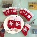 12 peças/set mini tampa louça decorações da árvore de natal meias de natal decorações de natal festival ornamento do partido