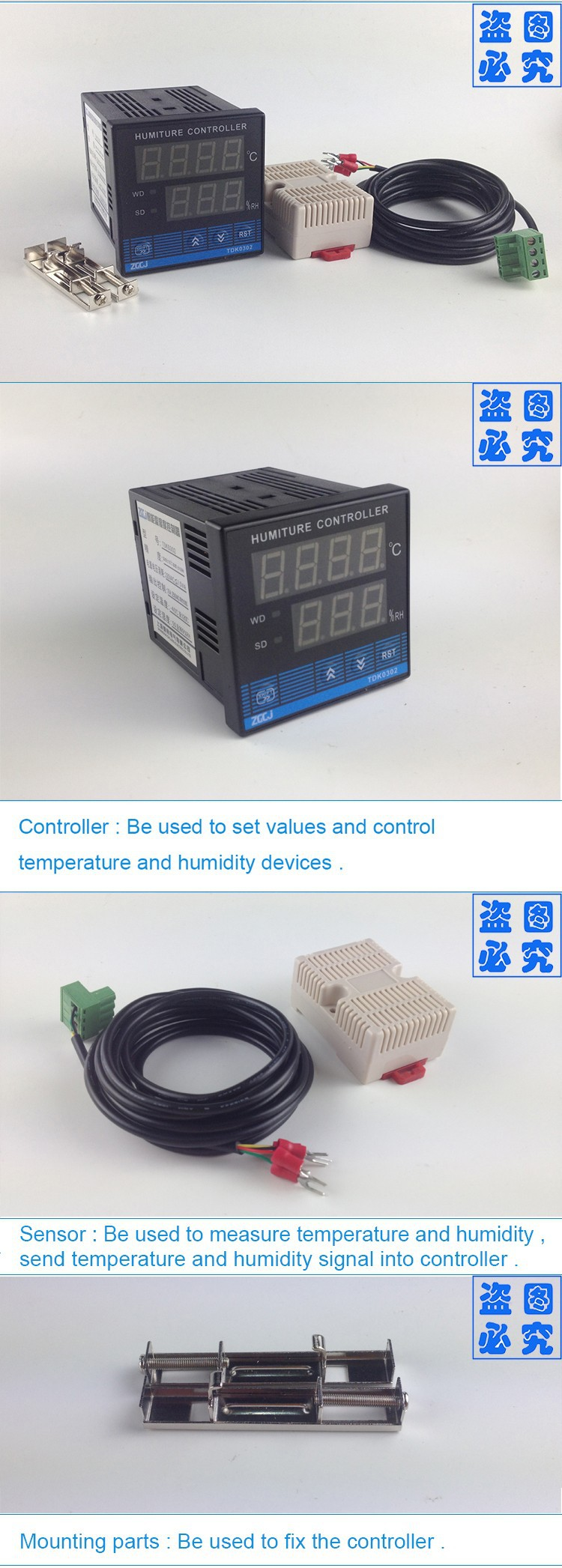 Digital Tdk0302 Temperature And Humidity Controller Work With Heater Wiring Diagram