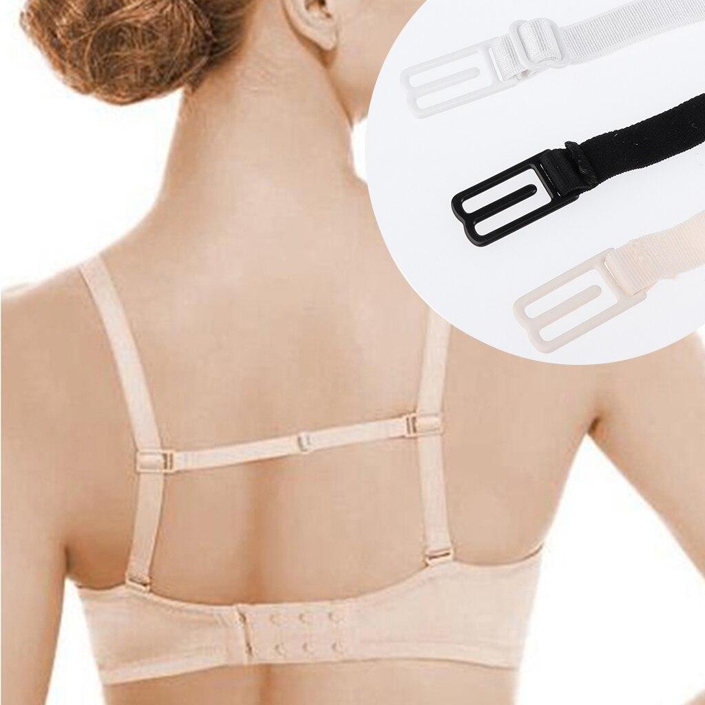 Non Slip Thin Replacement Elastic Bra Straps Clip Strap Holder for Women Bra