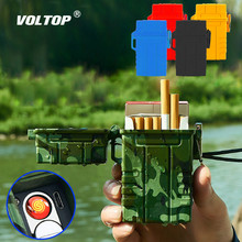 20pcs/box Cigarette Storage Box Lighter Car Accesories USB Charger Adapter Outdoor Portable Waterproof