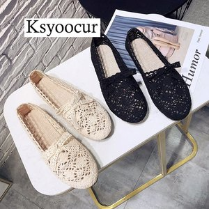 Image 2 - Brand Ksyoocur 2020 New Ladies Flat Shoes Casual Women Shoes Comfortable Round Toe Flat Shoes Spring/summer Women Shoes X01