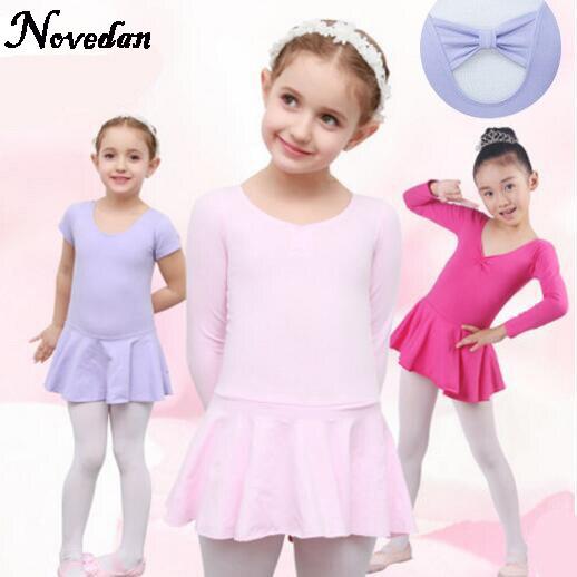 new-kids-girls-font-b-ballet-b-font-dresses-for-children-pink-cotton-font-b-ballet-b-font-clothing-long-sleeve-font-b-ballet-b-font-dance-leotard-with-skirt