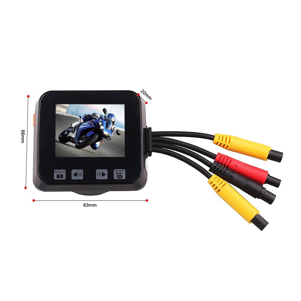C6 Mini 2.0 Motorcycle DVR Touch Key Full HD 720P Waterproof Dual Cameras Car Dash Video Recorder Support GPS tracker gps навигатор lexand sa5 hd